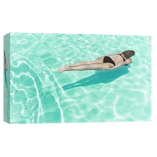 "PTM Images 9-103643  PTM Canvas Collection 8"" x 10"" - ""Figural Water 1"" Giclee Women Art Print on Canvas"