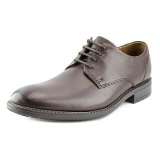 Clarks Truxton Plain Men Round Toe Leather Oxford