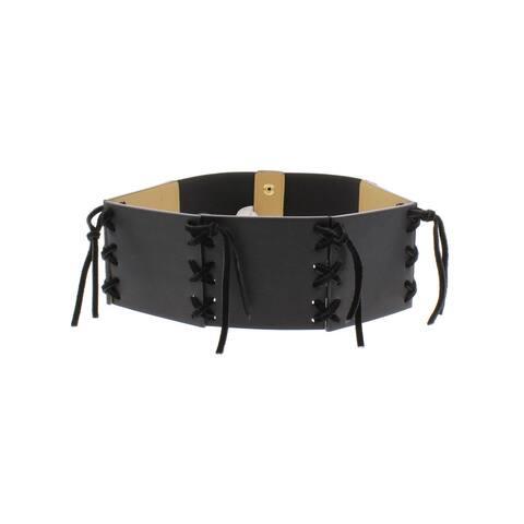 BCBGeneration Womens Fashion Belt Faux Leather Cinch