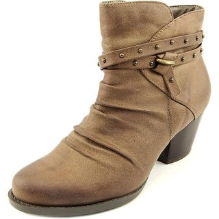 Baretraps Rainly Round Toe Synthetic Ankle Boot