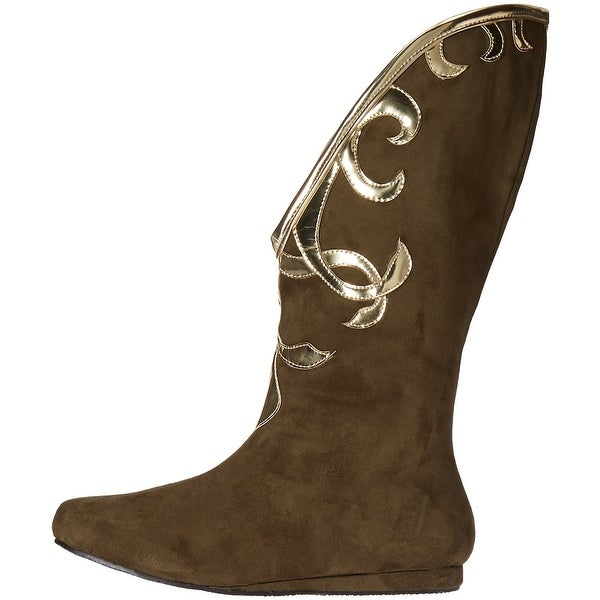 Ellie Shoes Womens 103-Alba Fabric Closed Toe Mid-Calf Fashion Boots - 10