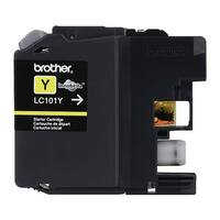 Brother LC101Y Brother Innobella LC101Y Ink Cartridge - Yellow - Inkjet - 300 Page - 1 Each