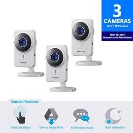 3-Pack SNH-1011REF - Samsung SmartCam IP Camera (Manufacturer Refurbished)