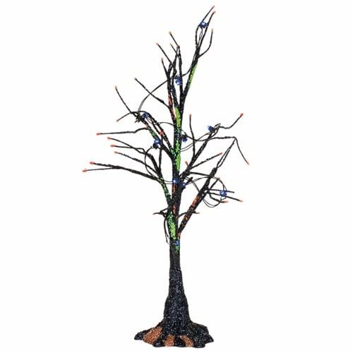 Black Light Bare Branch Tree
