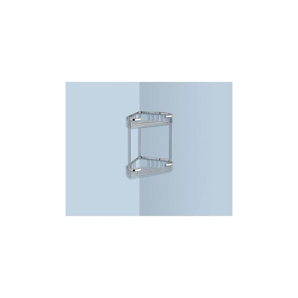 Nameeks 2481 Gedy Collection Wall Mounted Shower Basket Polished Chrome