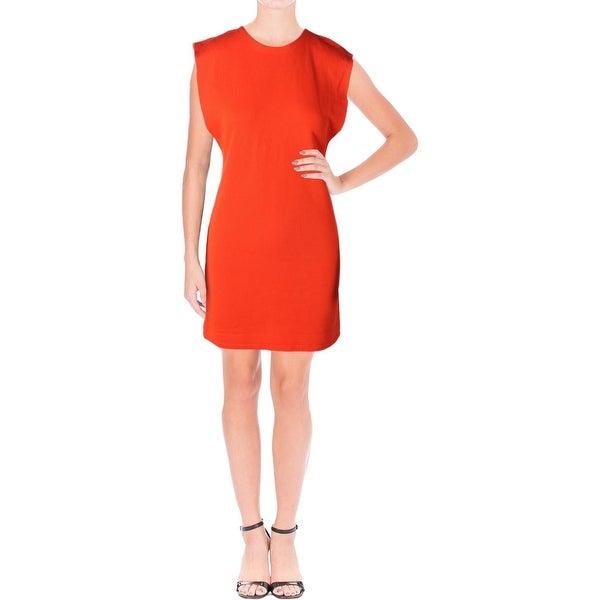 5bf746916c6 Shop Free People Womens Britt Casual Dress Fleece Cut-Out - Free ...