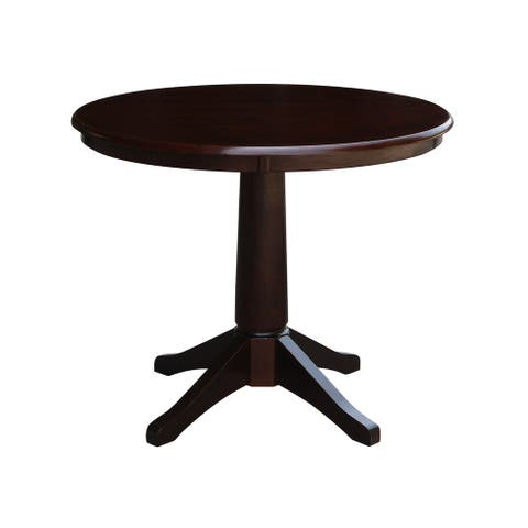 """36"""" Round Pedestal Dining Table"""