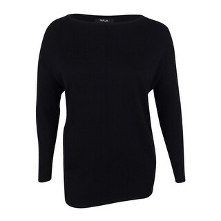 Style & Co. Women's Plus Size Boat-Neck Sweater