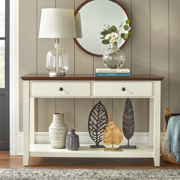 "Simple Living Charleston Sofa Table - 30.5""H x 48.5""W x 18""D. Opens flyout."
