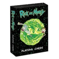 Playing Cards: Rick & Morty Cards - multi