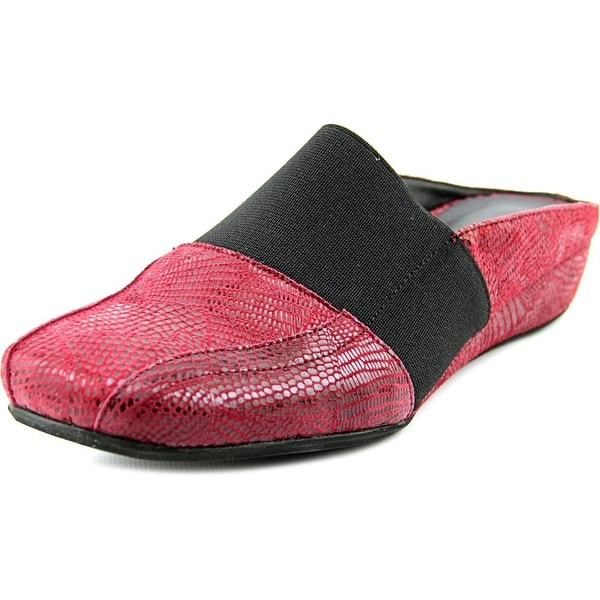 Vaneli Gilda Women N/S Round Toe Suede Mules