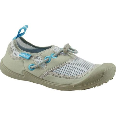 Cudas Women's Hyco Water Shoe Silver Air Mesh/Neoprene