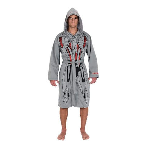 Marvel Grey Ultron Avengers Jersey Robe & Swim Suit Cover Up