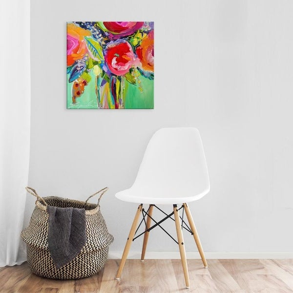 Easy Art Prints Jacqueline Brewer's 'Ode to Summer 1' Premium Canvas Art