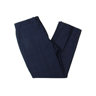 Lauren Ralph Lauren Mens Dress Pants Wool Plaid
