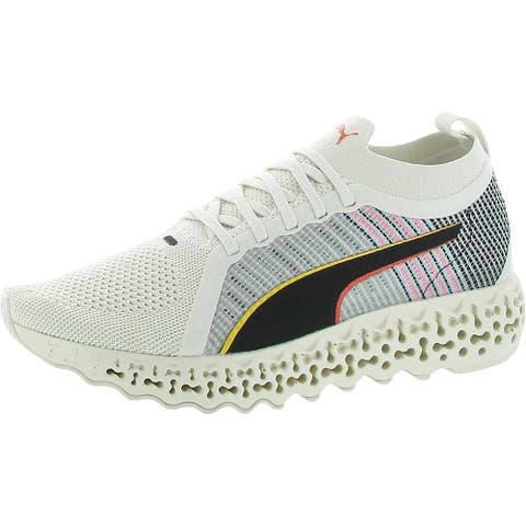 Puma Womens Calibrate Runner Mono Sock Sneakers Gym Exercise