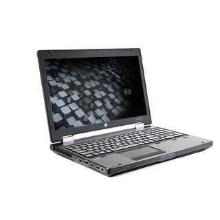 HP EliteBook 8560W Core i5-2540M 2.6GHz 6GB RAM 500GB HDD DVD-RW Windows 10 Pro 15.6-inch Laptop (Refurbished)