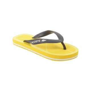 Lacoste Toddler Nosara FSM Sandals in Dark Blue/Yellow