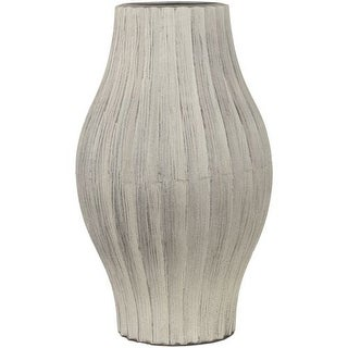 Surya NCV850 Ceramic Vase from the NATURAL Collection