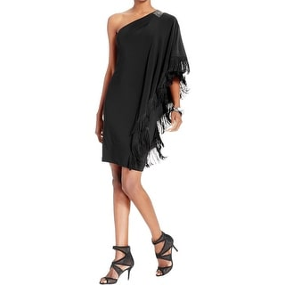 Betsy & Adam Womens Petites Cocktail Dress Pleated Chiffon