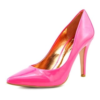 BCBGeneration Cielo Women Pointed Toe Synthetic Pink Heels