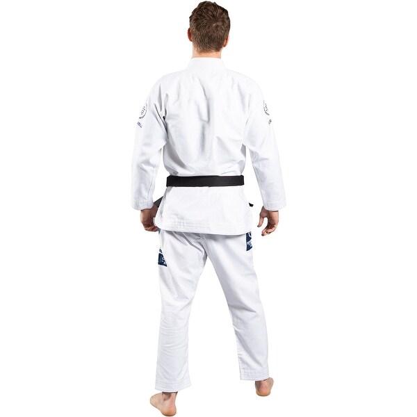 White Scramble New Wave Brazilian Jiu-Jitsu Gi