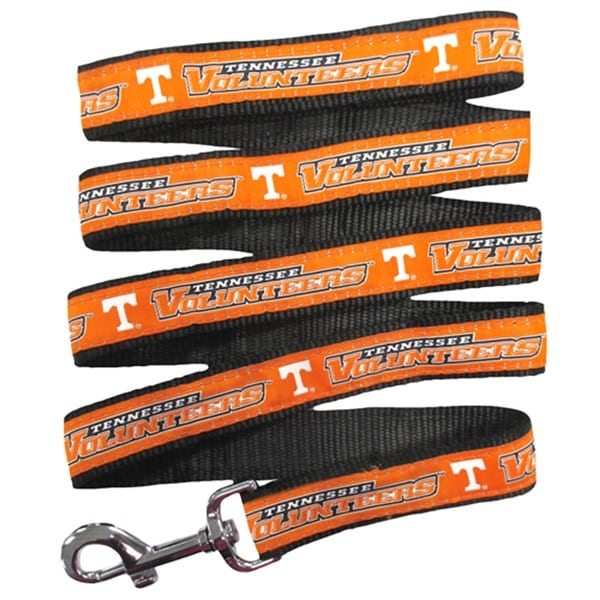 NCAA Official by Size Small Pets First Tennessee Vols Nylon Collar and Matching Leash for Pets