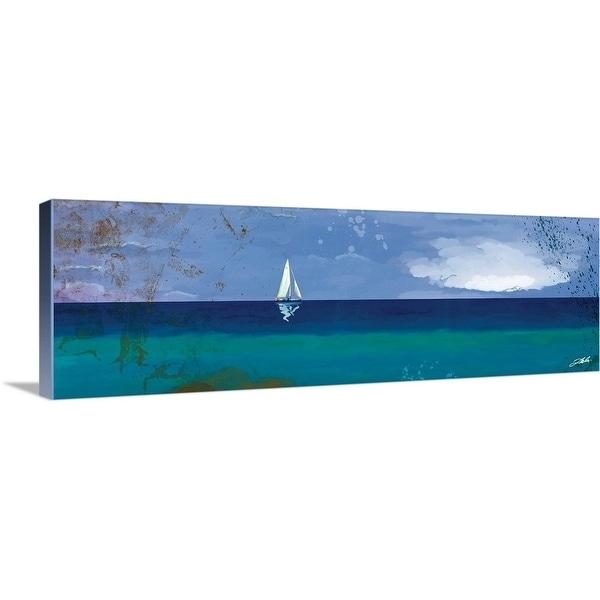 """""""Sail Panoramic"""" Canvas Wall Art"""