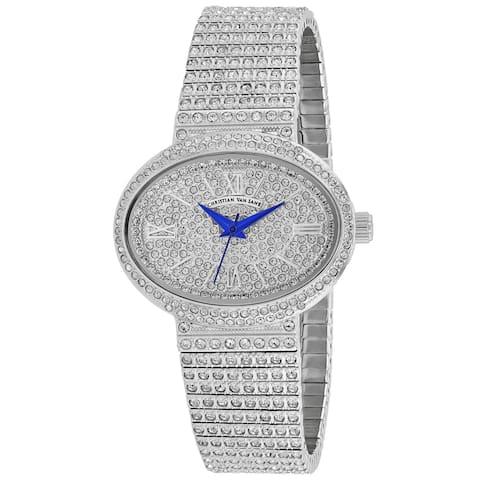 Christian Van Sant Women's Silver Dial Watch - CV0250 - One Size