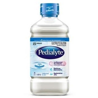 Abbott Nutrition Pedialyte Unflavored 2 oz Bottle, Institutional