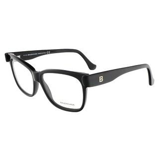 Balenciaga BA5003/V 001 Black Square prescription-eyewear-frames - 53-13-140
