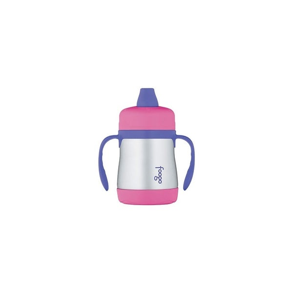 Thermos Foogo Vacuum Insulated Soft Spout Sippy Cup - Pink Foogo Vacuum Insulated Soft Spout Sippy Cup - Blue