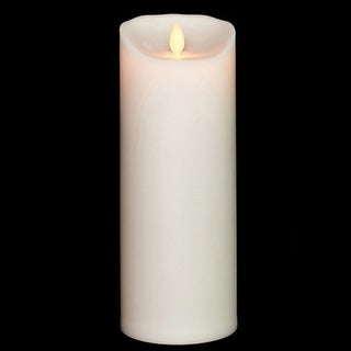 Ivory Unscented Outdoor Candle