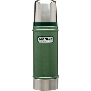 Stanley 10-01228-023 Classic Vacuum Bottle, 16 Oz, Hammertone Green