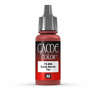 Vallejo Game Color Tan Paint, 17ml