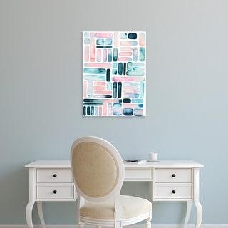 Easy Art Prints Grace Popp's 'Prisma Puzzle I' Premium Canvas Art