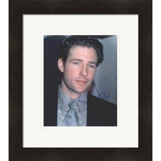 Ed Burns Autographed 8 x 10 in. Photo - Actor Matted & Framed