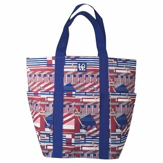 LOVE Bags Frank Lloyd Wright American Flags Tote Bag - Reusable Eco Shopping Bag - One size