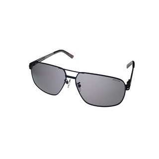 Kenneth Cole Reaction Mens Black, Metal Aviator Sunglass KC1281 2A - Medium