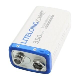 9V 9 Volt 350mAh Rechargeable Ni-MH Battery for Digital Camera