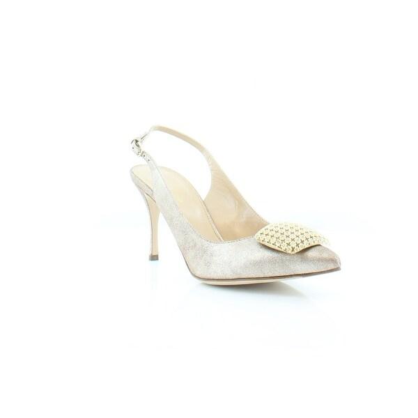Sergio Rossi Eloise Women's Heels Silver Moon - 7.5