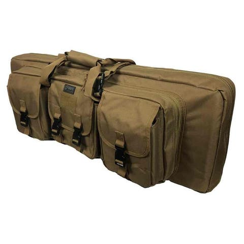 "DDT Double Rifle Case Gun Carrier 36"" x 14"" Tactical Military 5 Colors DDT-307 - 36""x14""x3"""