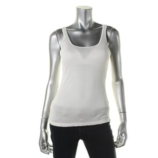 Zara W&B Collection Womens Modal Ribbed Knit Tank Top