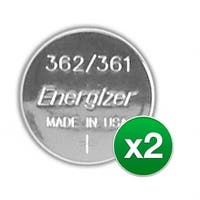 Replacement Battery for Energizer 361/362 (2-Pack) Replacement Battery