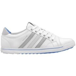 Adidas Women's Adicross IV White/Clear Onix/Chambray Golf Shoes Q47023