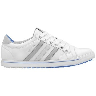 Adidas Women's Adicross IV White/Clear Onix/Chambray Golf Shoes Q47023