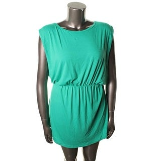 Planet Gold Womens Juniors Casual Dress Jersey Sleeveless - M