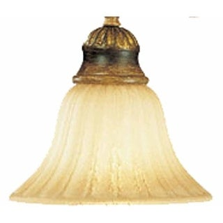 """Volume Lighting GS-323 4.25"""" Height Champagne Glass Bell Shade"""