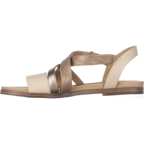 Naturalizer Womens Kandy Open Toe Casual Slingback Sandals