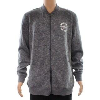 Jack & Jones NEW Gray Mens Size XL Full Zip Fleece Active Sweater